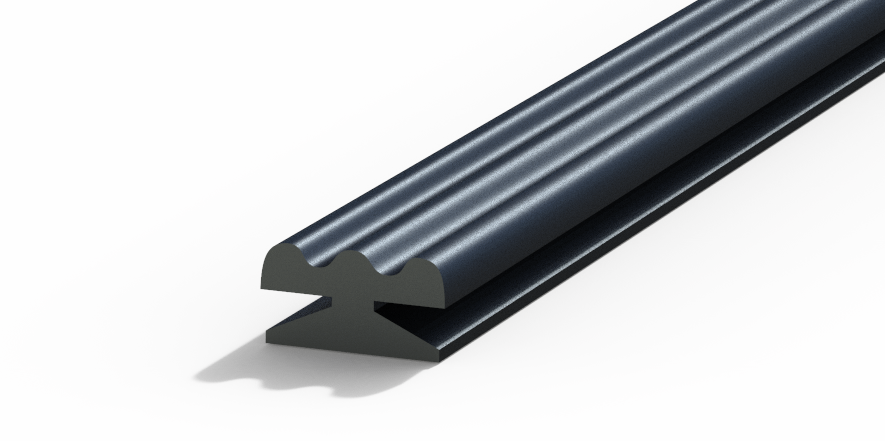 Profil plastic - ROLLING SHUTTER SEALS FOR END SLAT